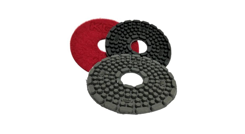 Velcro sanding pads