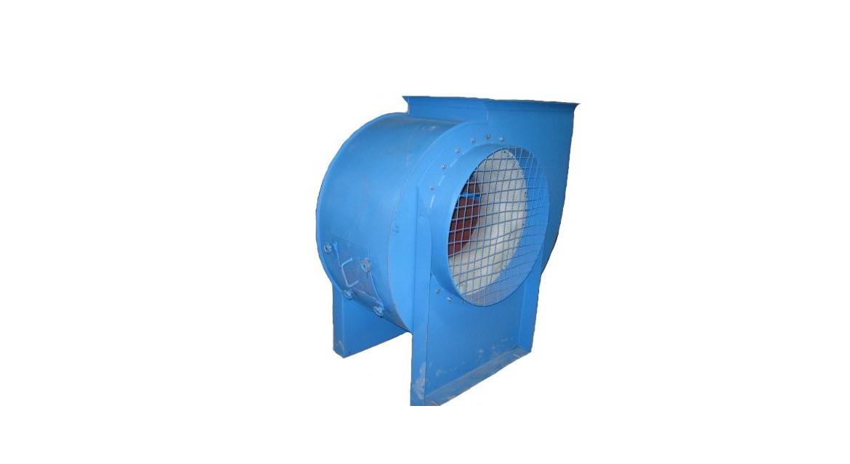 Ventilator for working glass