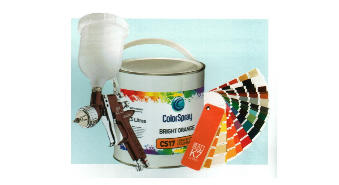 MANUAL PAINTING SYSTEM COLORSPRAY