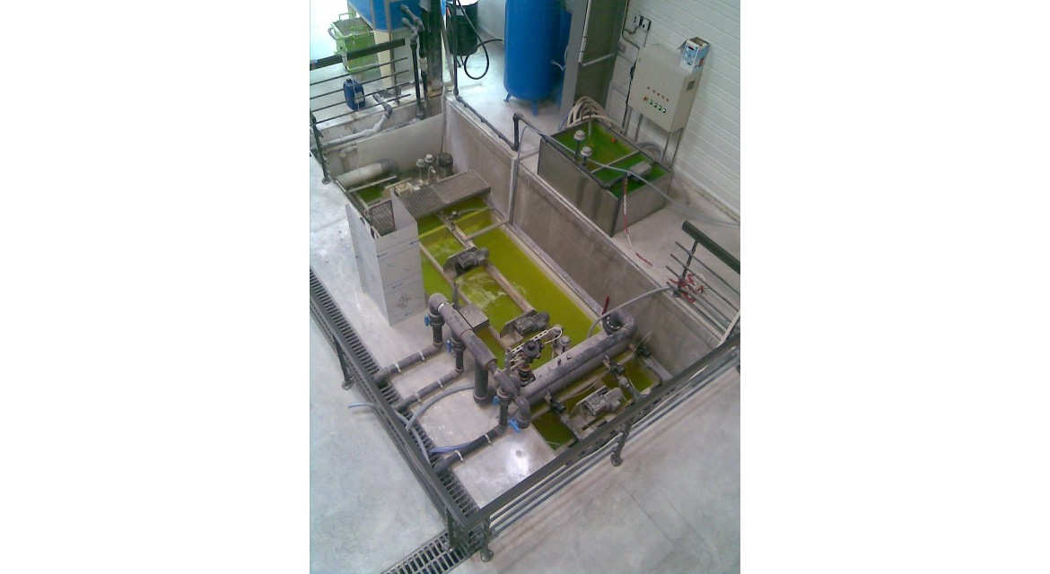 Particules Glass Powder Separation System VITROSEP