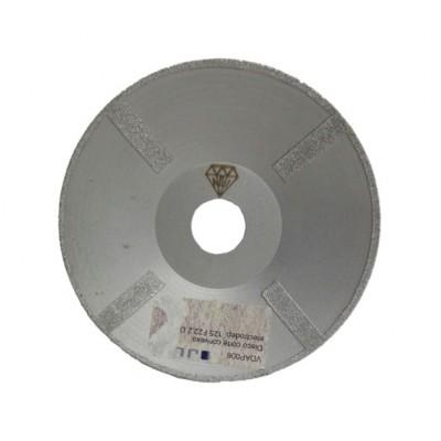 Disco de corte convexo electrodepositado