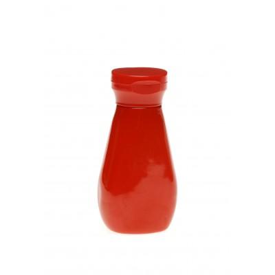 Frasco PET vermelho 250 ml