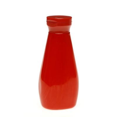 Frasco PET vermelho 450 ml