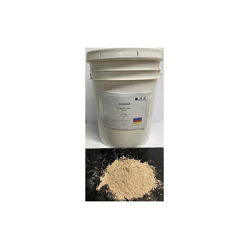 Óxido de Cério JLE para polimento de vidro