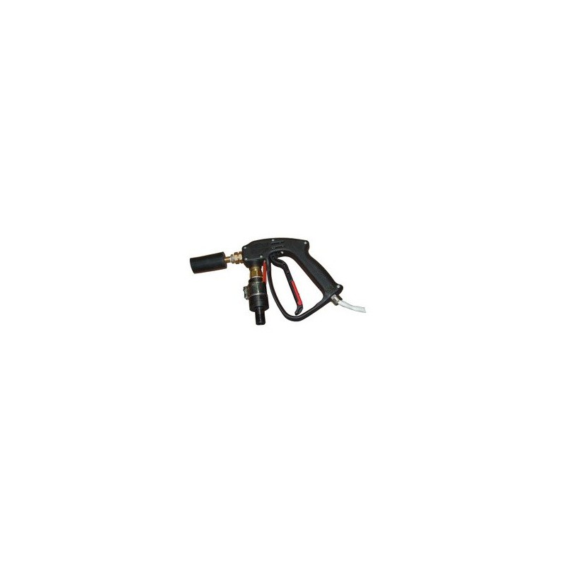 Pistola com resistência e cabos de ligação para extrusora hot-melt
