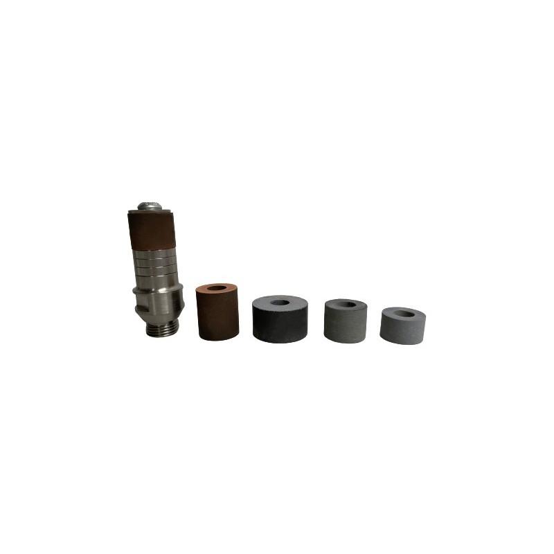 Adaptador porta mós cerâmicas com rosca 1/2 ´´ gás