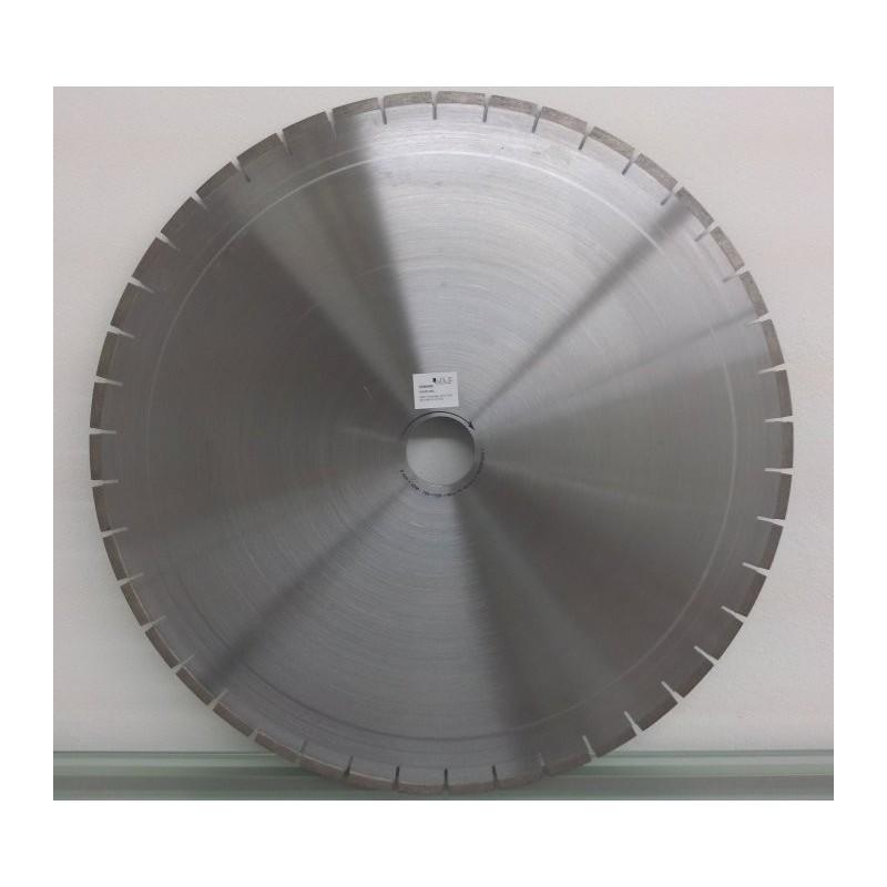 Disco de corte segmentado para corte de material refractário