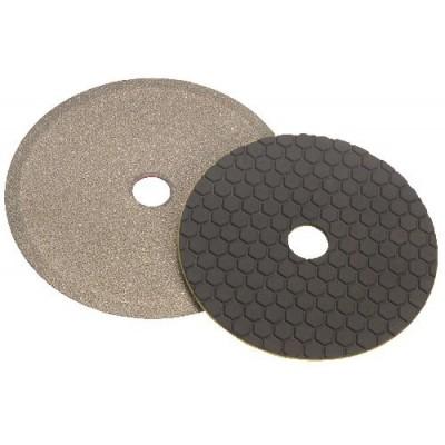 Discos de base em velcro para granito/mármore para trabalhar a seco Ref. Swiflex K1