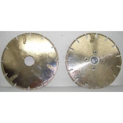 Disco de corte segmentado electrodepositado c/ lingua