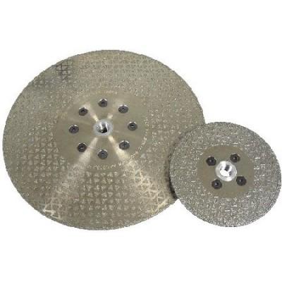 Disco de rebarbar electrodepositado